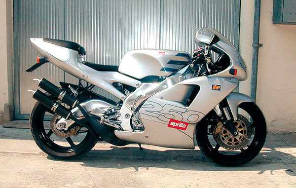 aprilia RS 250 photos